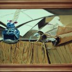 """картина холст масло """"Поэзия"""" - художник Евгений Клюев Новосибирск"""