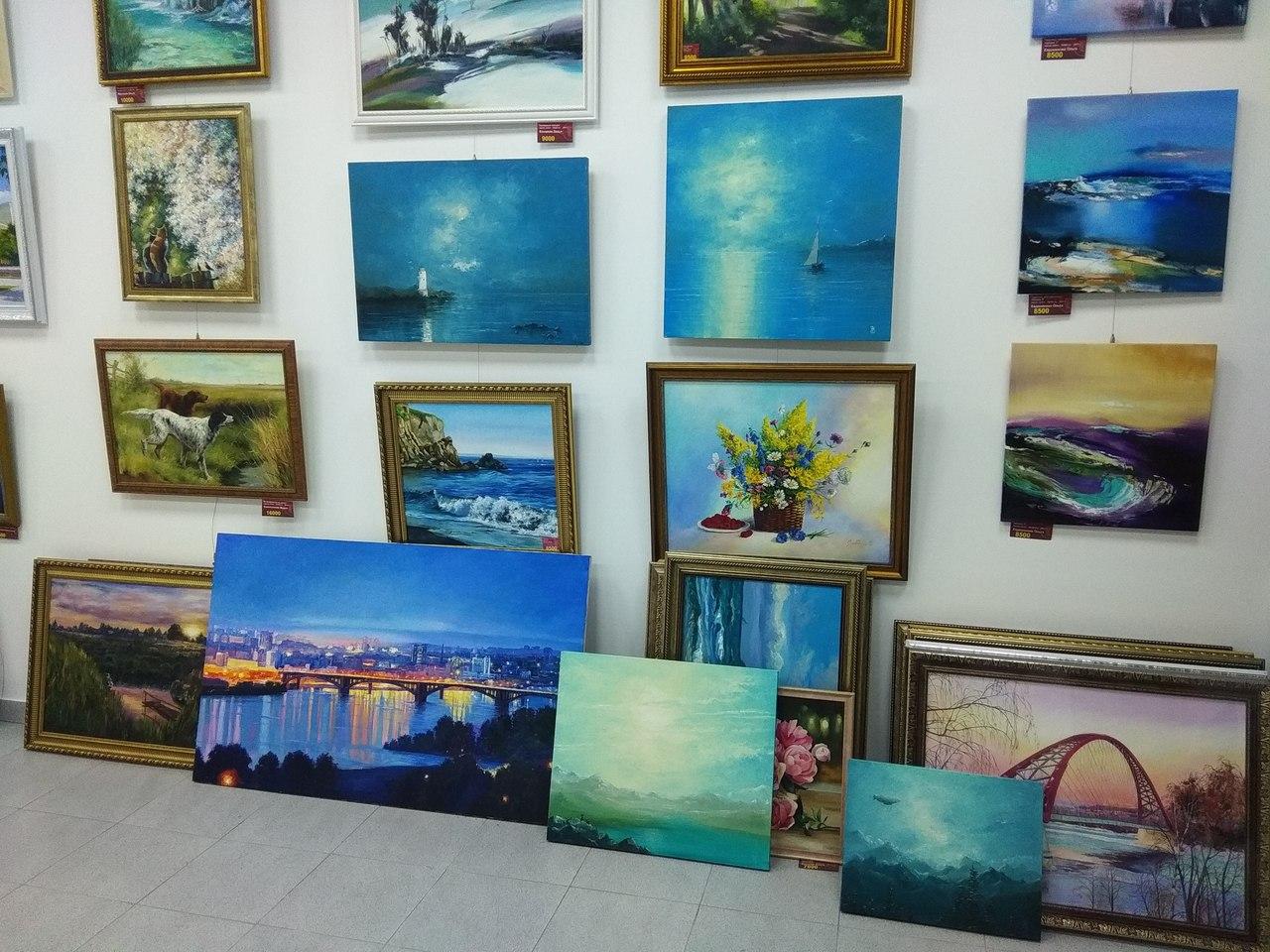 Купить картины Клюева Евгения в Новосибирске